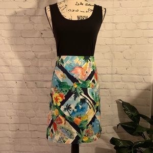 Adorable and Tropical  TALBOTS Skirt
